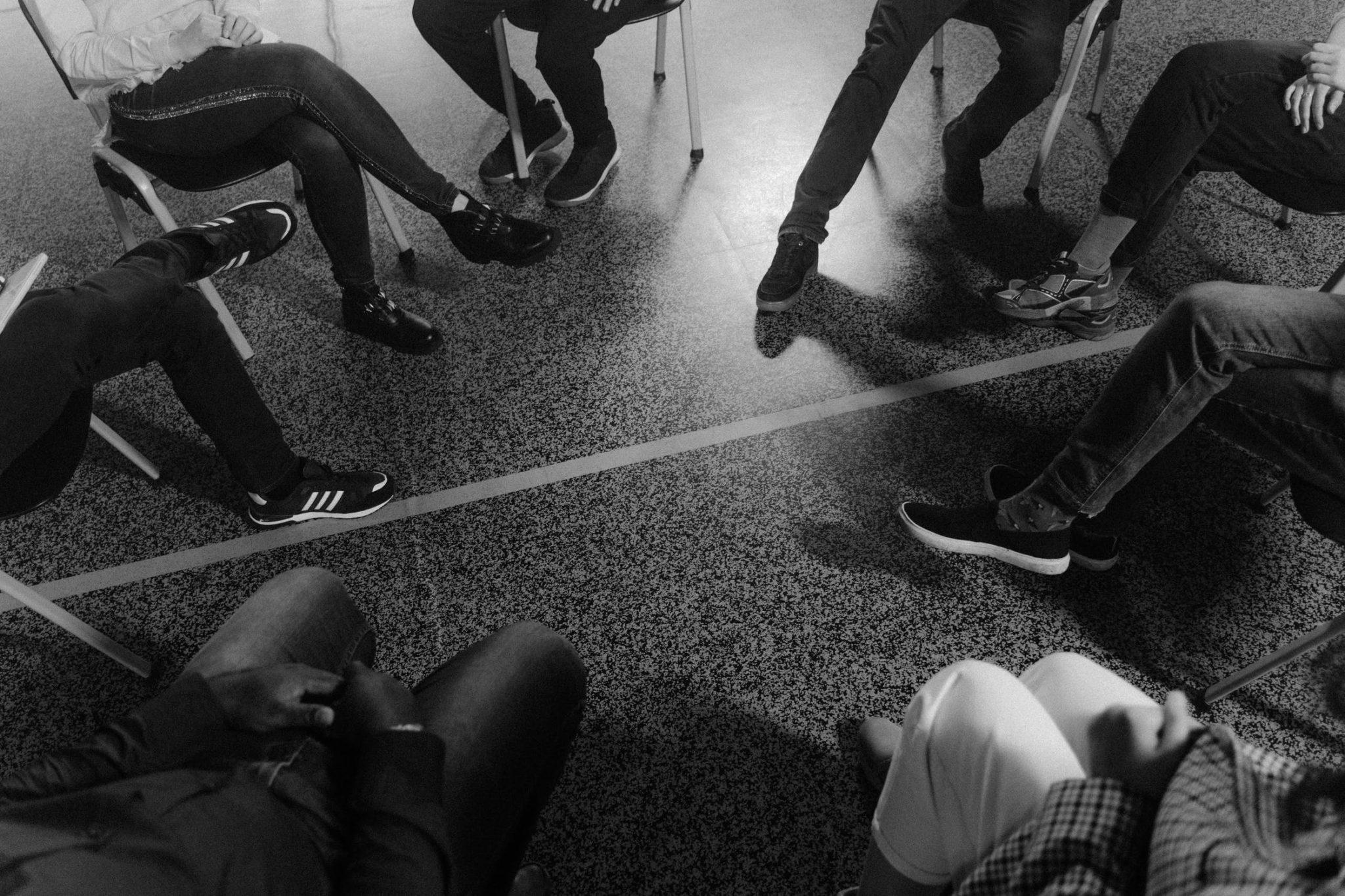 Groupe de parole en cercle