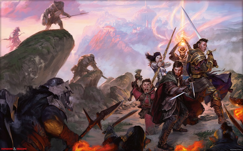 Jeu de rôle (JDR) : Donjons & Dragons (D&D 5e)