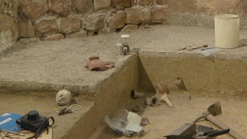 Photo d'une exposition du Musée Archéologique