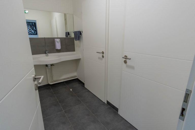 Les toilettes du GEM